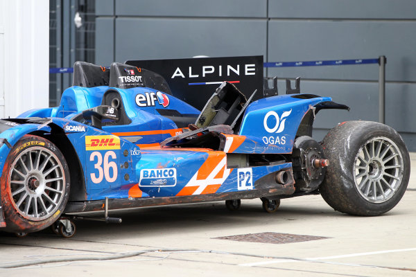 2015 FIA World Endurance Championship, Silverstone, England. 10th-12th April 2015 Nelson PANCIATICI, Paul Loup CHATIN, Vincent CAPILLAIRE Alpine A450b - Nissan  World copyright. Ebrey/LAT Photographic