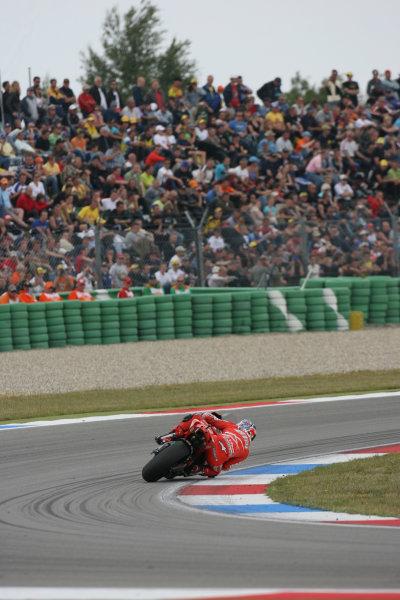 TT Circuit Assen, Netherlands. 28th June 2008.MotoGP Race.Casey Stoner Ducati Marlboro Team dominates the Dutch TT.World Copyright: Martin Heath / LAT Photographicref: Digital Image Only