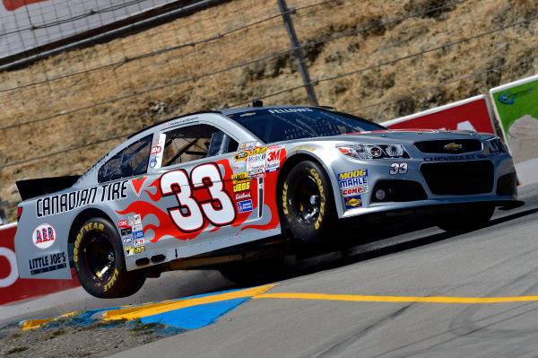 June 21-23, 2013, Sonoma, California USA Ron Fellows car © 2013, Brian Czobat LAT Photo USA .