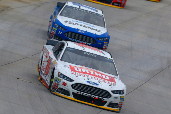 2-4 October, 2015, Dover, Delaware USA Greg Biffle and Ricky Stenhouse Jr ?2015, Russell LaBounty LAT Photo USA