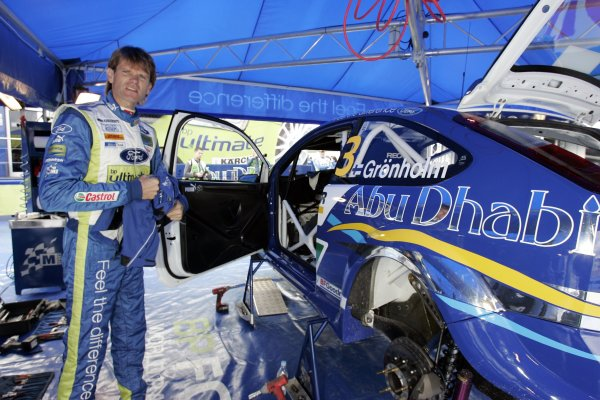 2007 FIA World Rally Champs. Round nineRally Finland.2nd-5th August 2007.Marcus Gronholm, Ford, portraitWorld Copyright: McKlein/LAT
