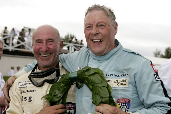 2007 Goodwood Revival Meeting.  Goodwood, West Sussex. 1st - 2nd September 2007.  Atmosphere. Frank Sytner and Barrie Williams. World Copyright: Gary Hawkins/LAT Photographic  ref: Digital Image Only