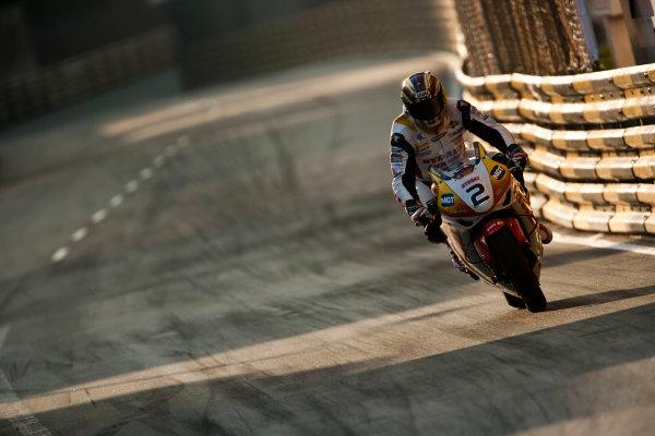 19th - 22nd November 2009. Circuit de Guia, Macau. John McGuinness, (Hydrex IGT Honda). Action. World Copyright: Drew Gibson/LAT Photographic.ref: Digital Image VY9E0569