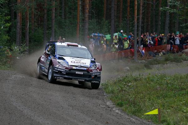 2013 FIA World Rally Championship Round 08-Rally Finland 31/7-3/8 2013. Yvgeny Novikov, Ford WRC, Action  Worldwide Copyright: McKlein/LAT