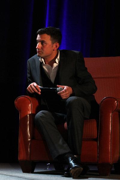 Compare Will Buxton (GBR) Speed TV Presenter. FOTA Fans Forum, Hilton Hotel, Austin, Texas, USA, 14 November 2012.