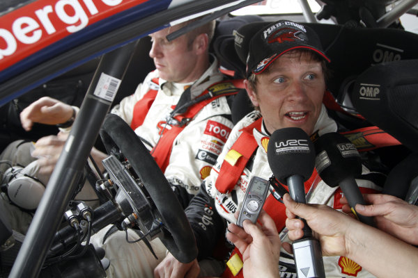 2010 FIA World Rally ChampionshipRound 02Rally Mexico 4-7 Mars 2010Petter Solberg, Citroen WRC, PortraitWorldwide Copyright: McKlein/LAT