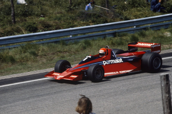Niki Lauda, Brabham BT46B Alfa Romeo.