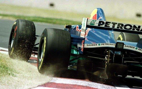1997 Canadian Grand Prix.Montreal, Quebec, Canada.13-15 June 1997.Johnny Herbert (Sauber C16 Petronas Ferrari) 5th position.World Copyright - LAT Photographic