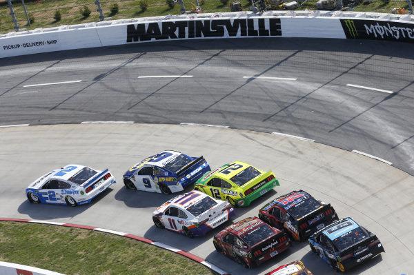 #2: Brad Keselowski, Team Penske, Ford Mustang Reese/DrawTite #9: Chase Elliott, Hendrick Motorsports, Chevrolet Camaro NAPA AUTO PARTS #11: Denny Hamlin, Joe Gibbs Racing, Toyota Camry FedEx Ground