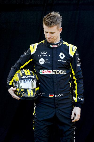 Official Portrait Nico Hulkenberg, Renault F1 Team