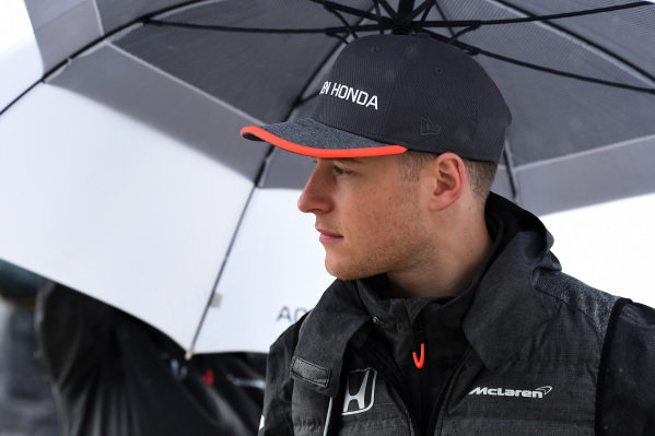 Stoffel Vandoorne (BEL) McLaren at Formula One World Championship, Rd2, Chinese Grand Prix, Race, Shanghai, China, Sunday 9 April 2017.