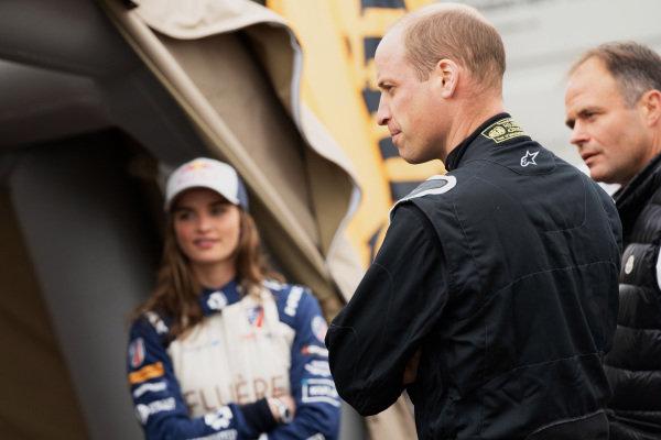 Catie Munnings (GBR), Andretti United Extreme E, and HRH Prince William, Duke of Cambridge