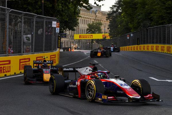 Bent Viscaal (NLD, Trident), leads Juri Vips (EST, Hitech Grand Prix)