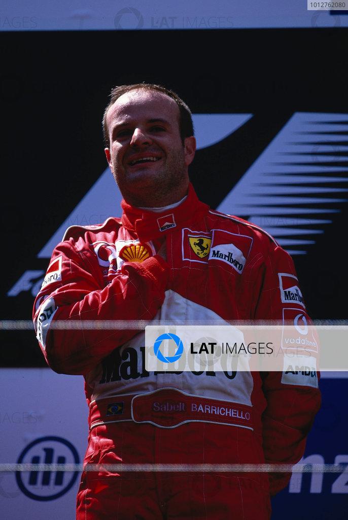 2002 European Grand Prix, Nurburgring, Germany. 23rd June 2002