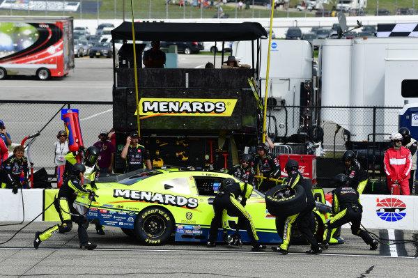 #19: Brandon Jones, Joe Gibbs Racing, Toyota Supra Menards/Jeld-Wen