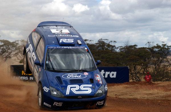 2002 World Rally Championship.Telstra Rally Australia, Perth. October 31st-November 3rd.Markko Martin on the Muresk stage.Photo: Ralph Hardwick/LAT