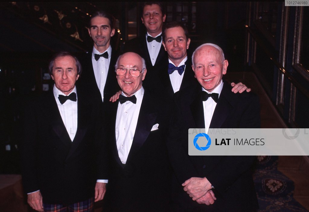 Murray Walker Dinner, Cafe Royal, London, 23rd November 2001.
