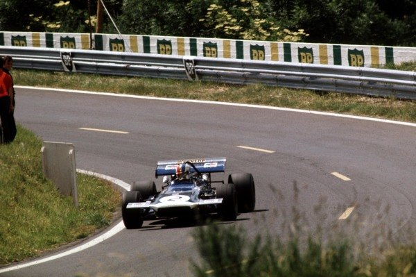 1970 French Grand Prix.Clermont-Ferrand, France.3-5 July 1970.Francois Cevert (March 701 Ford) 11th position.Ref-70 FRA 21.World Copyright - LAT Photographic