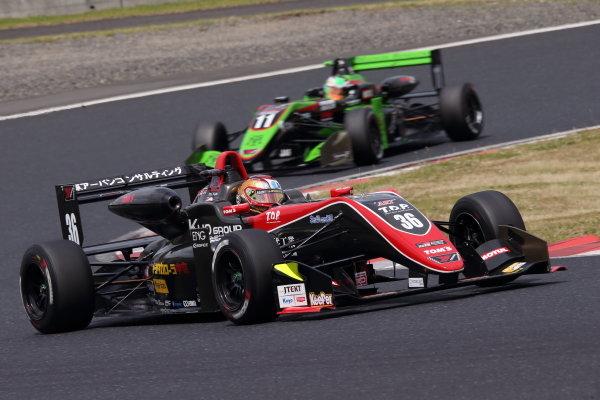 Round 7. Winner Ritomo Miyata, Corolla Chukyo Kuo TOM'S Dallara F317 Toyota. Photo by Masahide Kamio