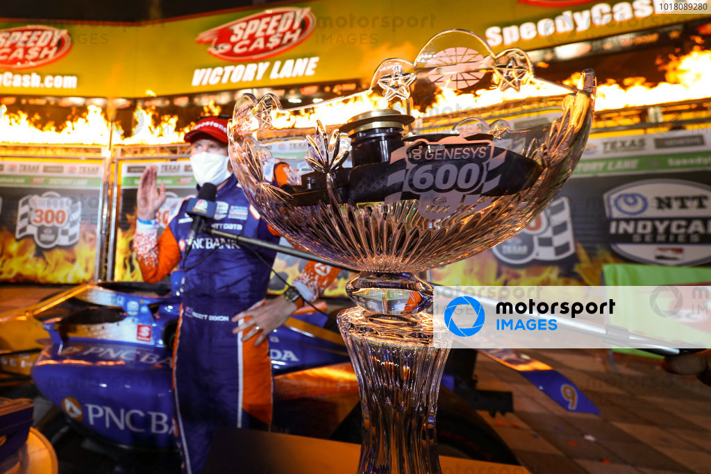 Race Winner Scott Dixon, Chip Ganassi Racing Honda Copyright: Chris Owens - IMS Photo