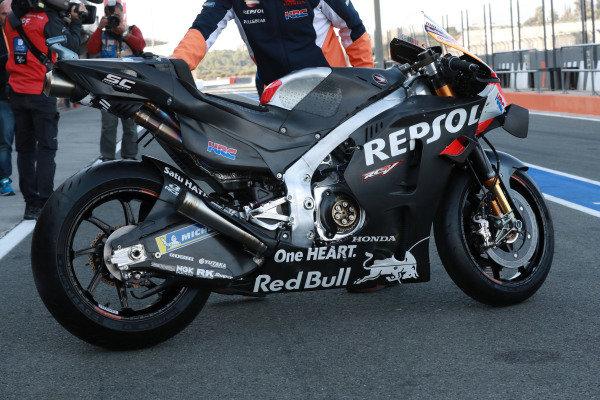 Honda bike.