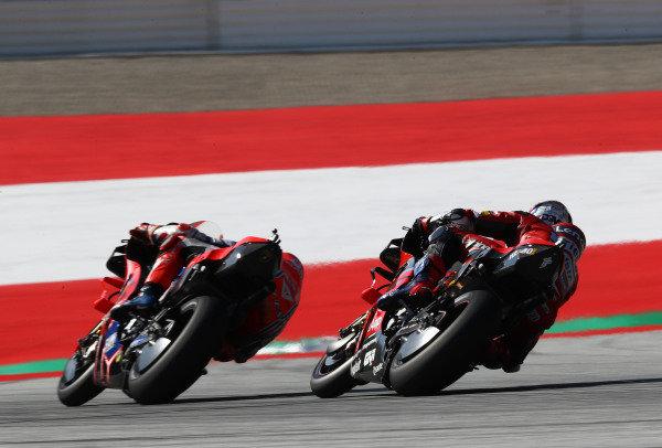 Jack Miller, Pramac Racing, Andrea Dovizioso, Ducati Team.
