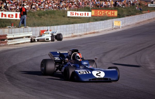 1972 South African Grand Prix.Kyalami, South Africa.2-4 March 1972.Francois Cevert (Tyrrell 002 Ford) 9th position.Ref- 72 SA 04.World Copyright - LAT Photographic