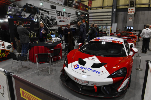 A McLaren on the First Choice stand.