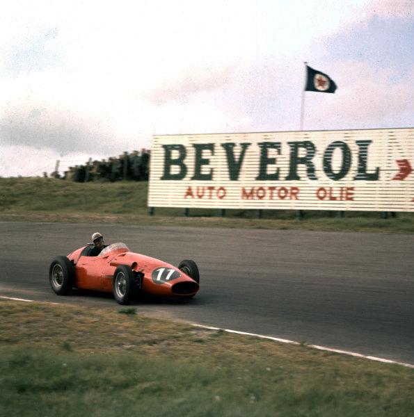 1958 Dutch Grand Prix.Zandvoort, Holland.23-25 May 1958.Jo Bonnier (Maserati 250F) 10th position.Ref-3/0014.World Copyright - LAT Photographic