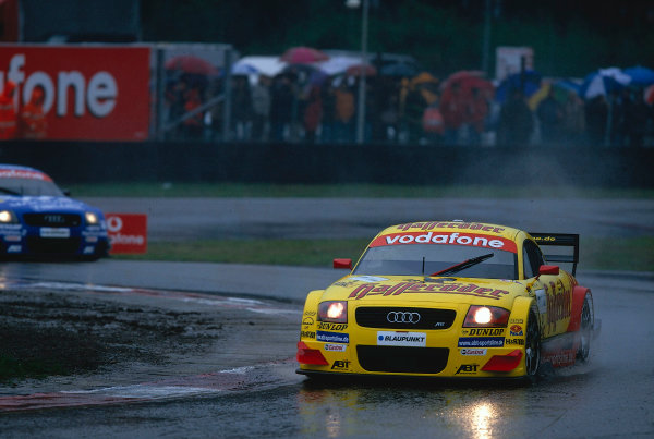 2002 DTM Championship, Zolder, Belgium. Rd 2, 4th-5th May 2002.Laurent Aiello (F), Abt-Audi TT-R.World Copyright: Lawrence/LAT Photographic