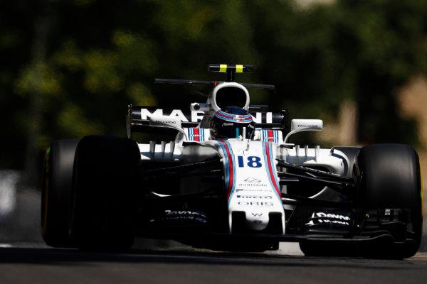 Baku City Circuit, Baku, Azerbaijan. Friday 23 June 2017. Lance Stroll, Williams FW40 Mercedes.  World Copyright: Glenn Dunbar/LAT Images ref: Digital Image _X4I9494