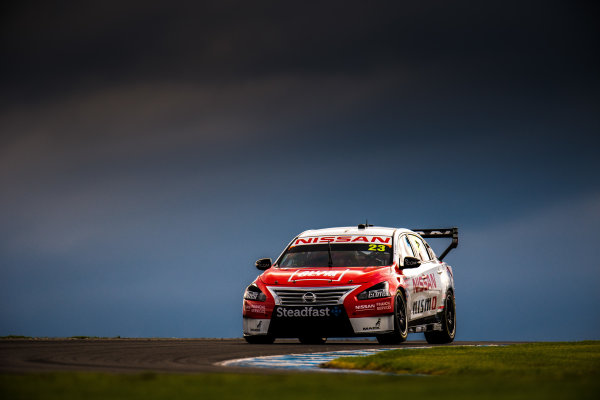 2017 Supercars Championship Round 3.  Phillip Island 500, Phillip Island, Victoria, Australia. Friday 21st April to Sunday 23rd April 2017. Michael Caruso drives the #23 Nissan Motorsport Nissan Altima. World Copyright: Daniel Kalisz/LAT Images Ref: Digital Image 210417_VASCR3_DKIMG_1728.JPG