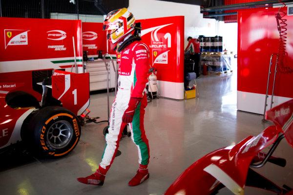 Circuit de Barcelona Catalunya, Barcelona, Spain. Monday 13 March 2017. Charles Leclerc (MON, PREMA Racing). Photo: Alastair Staley/FIA Formula 2 ref: Digital Image 585A7271