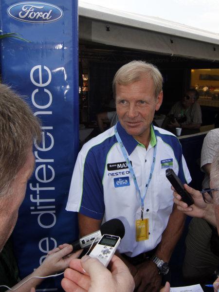 Round 08Rally Finland 29-31 July 2010Juha Kankkunen, Ford WRC, PortraitWorldwide Copyright: McKlein/LAT