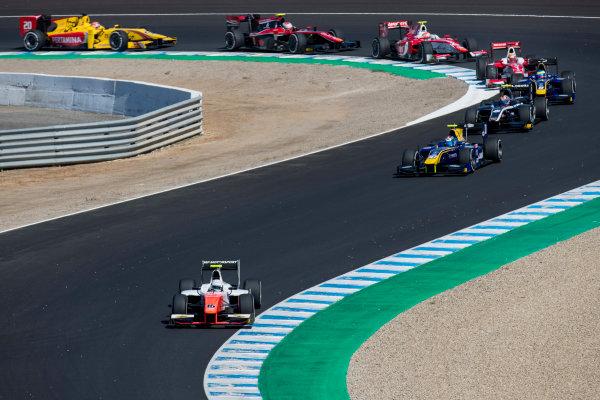 2017 FIA Formula 2 Round 10. Circuito de Jerez, Jerez, Spain. Sunday 8 October 2017. Jordan King (GBR, MP Motorsport).  Photo: Zak Mauger/FIA Formula 2. ref: Digital Image _56I7549