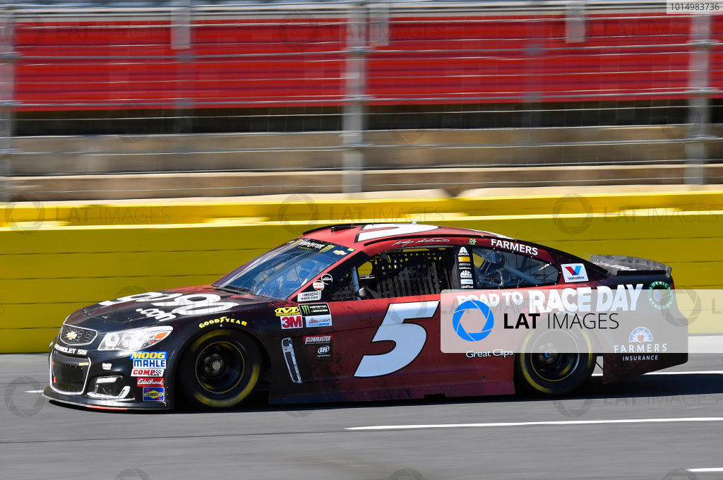 Monster Energy NASCAR Cup Series Bank of America 500 Charlotte Motor Speedway, Concord, NC USA Friday 6 October 2017 Kasey Kahne, Hendrick Motorsports, Road to Race Day Chevrolet SS World Copyright: Nigel Kinrade LAT Images