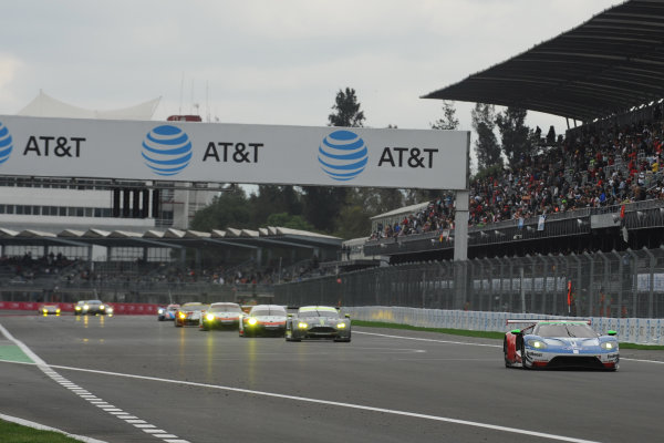 2017 World Endurance Championship, Mexico City, Mexico. 1st-3rd September 2017, #66 Ford Chip Ganassi Team UK  Ford GT: Stefan Mucke, Olivier Pla,   World copyright. JEP/LAT Images