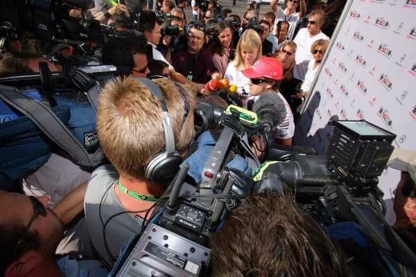 2007 Italian Grand Prix - Friday Practice