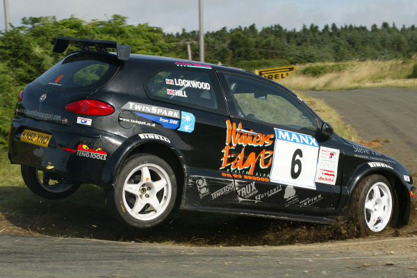 Steve Hill/Joanne Lockwood. Manx International Rally. July 31st - August 2nd 2003. World copyright Jakob Ebrey/Lat Photographic.