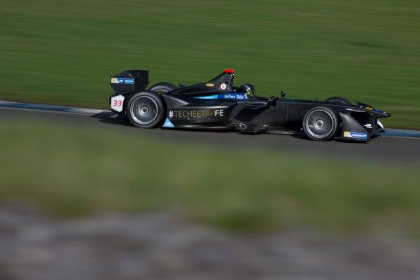 FIA Formula E Second Pre-Season Testing Event. Donington Park Racecourse, Derby, United Kingdom. Ma Qing Hua, Techteetah, Spark-Renault. Photo: Alastair Staley / LAT ref: Digital Image 585A7131