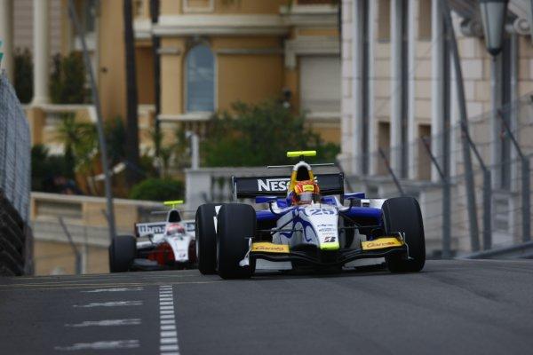 2008 GP2 Series. Round 3. Saturday Race. Monte-Carlo, Monaco. 24th May 2008.Diego Nunes (BRA, David Price Racing). Action. World Copyright: Charles Coates/GP2 Series Media Service.ref:__26Y9468 jpg