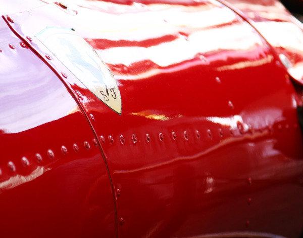 Goodwood, England. 3rd July 2009. Ferrari 312 detail. World Copyright: Kevin Wood/LAT Photographic Ref: Digital Image IMG_8538a