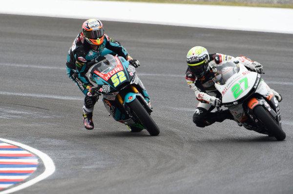 Danny Kent, Speed Up Racing almost crashing