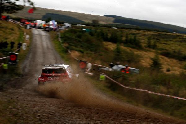 Round 10- Wales Rally GB 12-16/9- 2012.Evgeny Novikov, Ford WRC, Action.Worldwide Copyright: McKlein/LAT