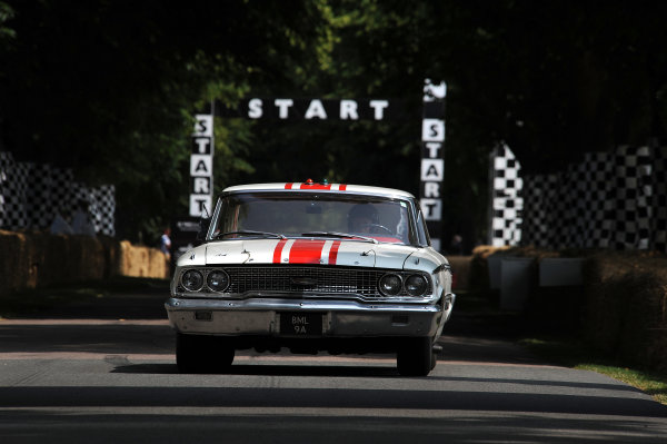2013 Goodwood Festival of Speed. Goodwood Estate, Chichester, England. 11th - 14th July 2013. Jack Sears, Ford Galaxy, action. World Copyright: Jeff Bloxham/LAT Photographic ref: Digital Image DSC_5212