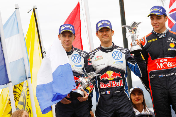 2016 FIA World Rally Championship, Round 04, Rally Argentina, April 21-24, 2016 Sebastien Ogier, VW, 2nd place  Worldwide Copyright: McKlein/LAT