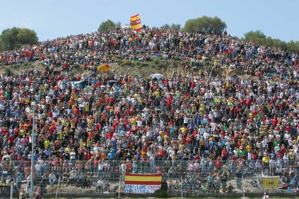 2008 Moto GP ChampionshipJerez, Spain. 28th - 30th March 2008.Jerez spanish race crowd.World Copyright: Martin Heath/LAT Photographicref: Digital Image Only