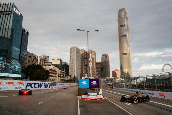 2017/2018 FIA Formula E Championship. Round 1 - Hong Kong, China. Saturday 02 December 2017. Jean Eric Vergne (FRA), TECHEETAH, Renault Z.E. 17. Photo: Sam Bloxham/LAT/Formula E ref: Digital Image _J6I3769