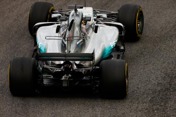 Interlagos, Sao Paulo, Brazil. Friday 10 November 2017. Lewis Hamilton, Mercedes F1 W08 EQ Power+. World Copyright: Glenn Dunbar/LAT Images  ref: Digital Image _31I9936
