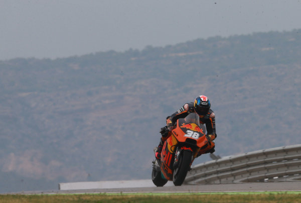 2017 MotoGP Championship - Round 14 Aragon, Spain. Friday 22 September 2017 Bradley Smith, Red Bull KTM Factory Racing World Copyright: Gold and Goose / LAT Images ref: Digital Image 693653